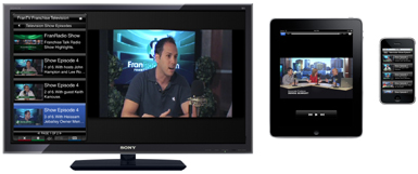 We remix your television content into interactive apps!